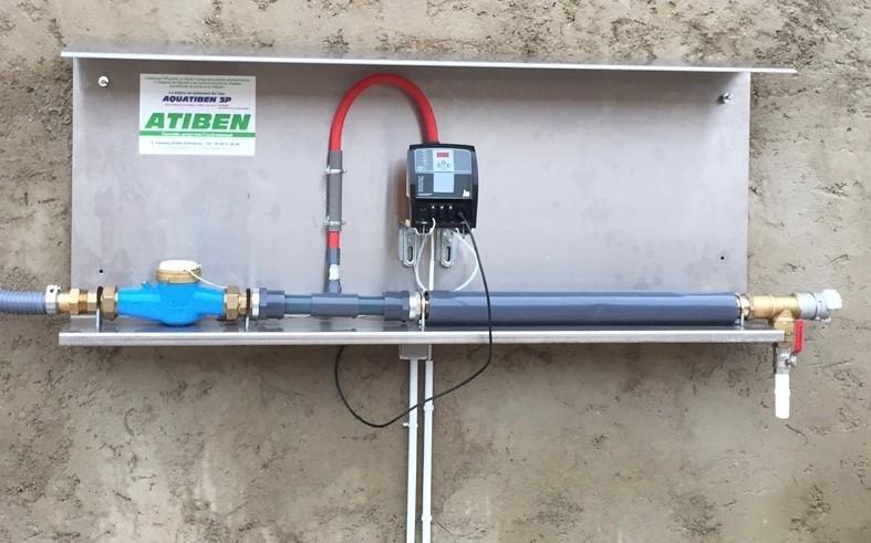 Platine sortie cuve tampon  2' diam 54 ( 25 m3/h de débit)