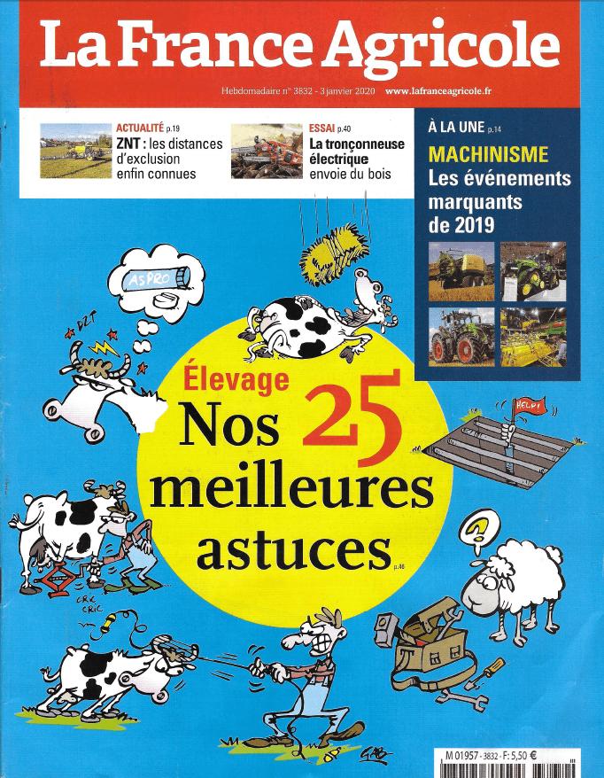 La France Agricole 3 Janvier 2020