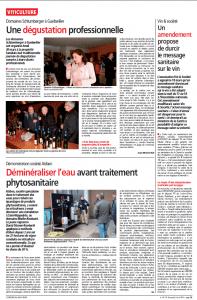 Article L'Est Agricole 3 avril 2015